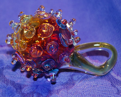 Glass Thistle Pendant
